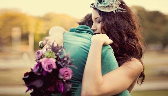 Cảm giác ôm người yêu
