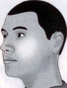 Nốt ruồi giữa xương quai hàm và mang tai