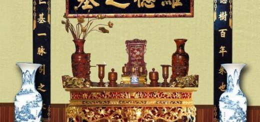 Mách cách bài trí bàn thờ gia tiên hợp phong thủy (p2) ảnh 3
