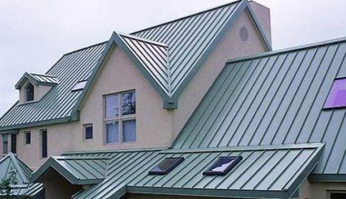 Kết quả hình ảnh cho Chọn mái tôn nhà theo sắc màu phong thủy xanh